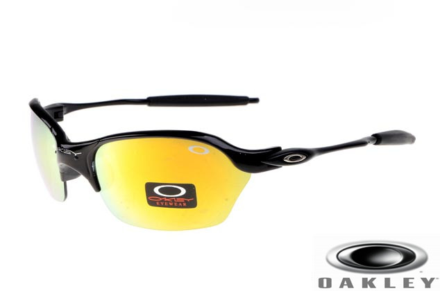 oakley half x sunglasses  oakley half x sunglasses polished black frame yel.