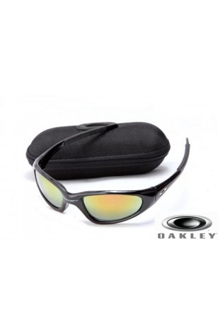 oakley minute  Cheap Oakley Minute Men Sunglasses Polished Black Frame Fire ...