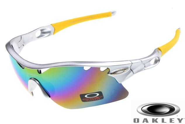 Oakley Silver Sunglasses  fake oakley radar path photochromic sunglasses silver frame