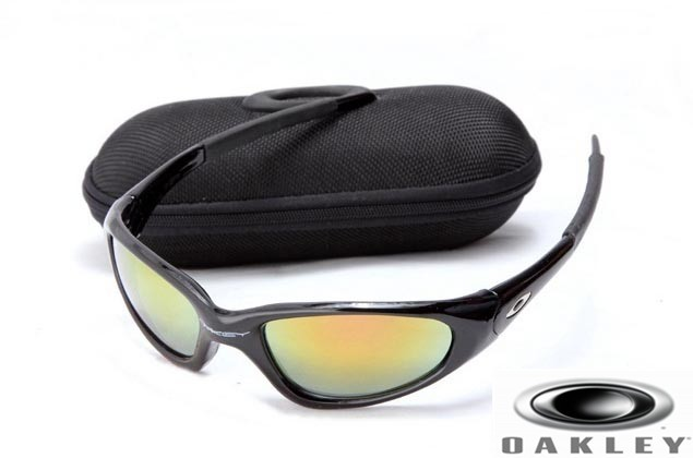 Oakley Minute Sunglasses  oakley minute men sunglasses polished black frame fire