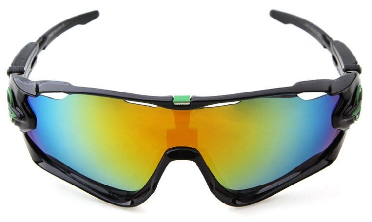 fokiw Discount Oakley Sunglasses Jawbreaker Black Frame Fire Ice Blue