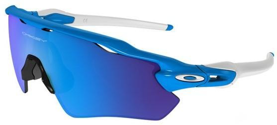 white and blue oakley sunglasses  Replica Oakley Sunglasses Radar EV Path Prizm Blue White Frame ...