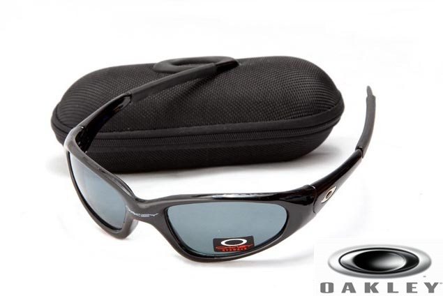 replica oakley sunglasses australia  oakley minute men sunglasses polished black frame.