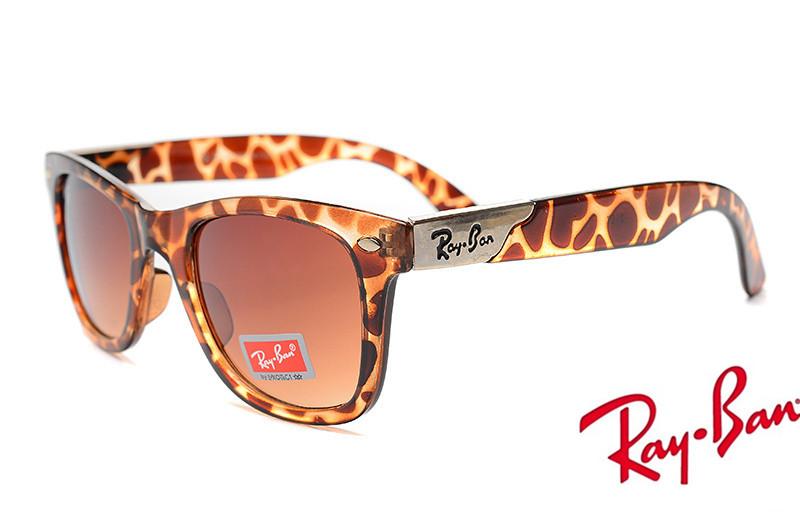 062d75c550 Ray Ban RB2157K Ultra Wayfarer Sunglasses Leopard.