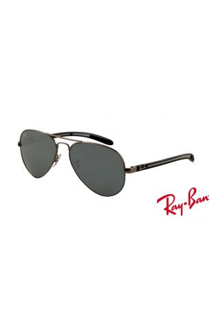 d7375f86e1 Fake Ray Ban RB8307 Aviator Tech Sunglasses Carbon Fibre Gunmetal ...