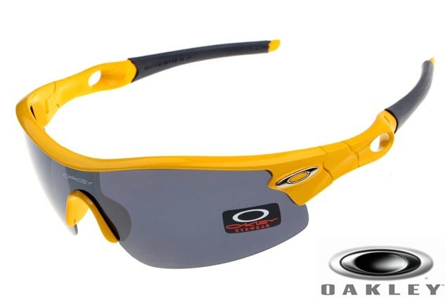 366f1a63af Cheap Fake Oakley Radar Pitch Sunglasses Polished Yellow Frame ...