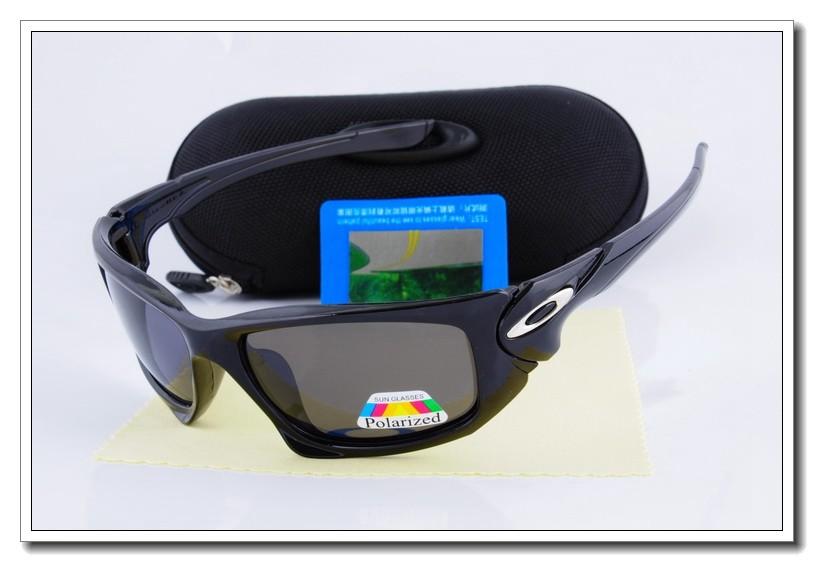 6a999a945e7 Oakley Scalpel Polarized Sunglasses Polished Black Frame Gray Lens