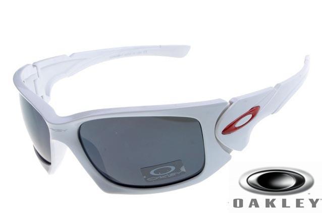 99845649b284c Cheap Fake Oakley Scalpel Sunglasses White Frame Gray Iridium ...