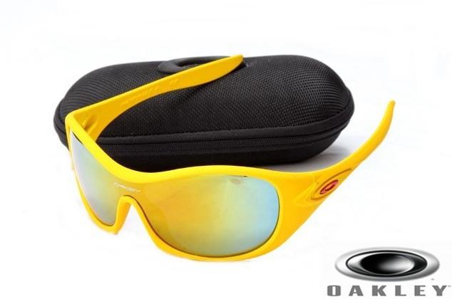 bb8d05345d Oakley Speechless Sunglasses Yellow Frame Fire Iridium Lens