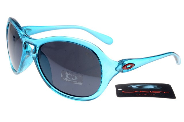 416b610c41 Cheap Oakley Women Overtime Round Sunglasses Crystal Blue ...