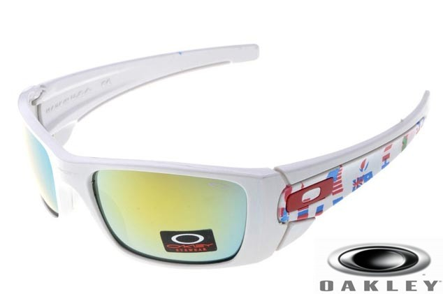 Cheap Replica Oakley Fuel Cell Sunglasses White Frame Ice Iridium ...