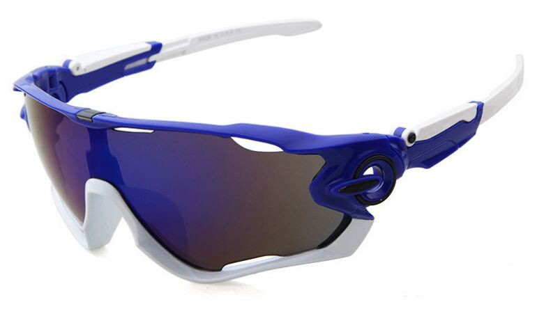 d7ef646e616 Oakley Sunglasses Jawbreaker Sky Blue Frame Sapphire Iridium Lens