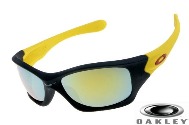 711d65ae905 Oakley Pit Bull Sunglasses Black Yellow Frame Fire Iridium Lens