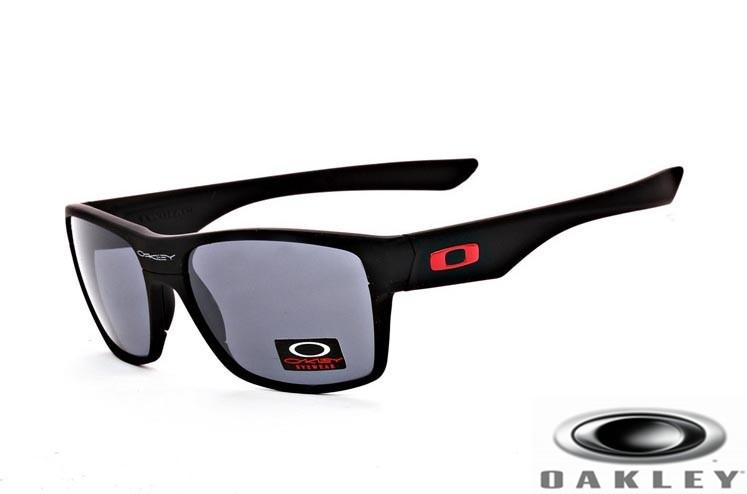 bfd6a96cbe Wholesale Replica Oakley TwoFace Sunglasses Matte Black Frame Gray ...