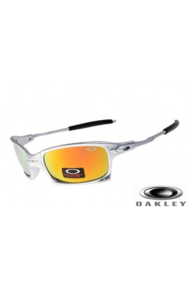 629a1703ed2 Oakleys X Squared Sunglasses Silver Frame Yellow Iridium Lens