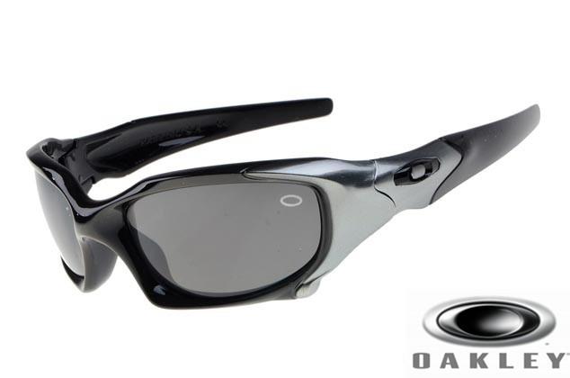 f7e09d19ee Wholesale Knock Off Oakley Pit Boss Sunglasses Silver Black Frame ...